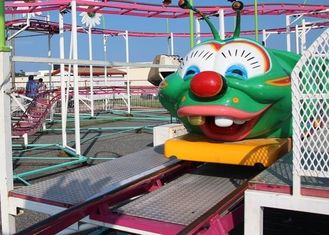 Aneka Desain Wacky Worm Coaster, Outdoor 6 Seats Kids Amusement Ride