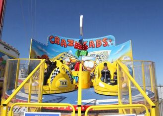Cina 380V Tagada Funfair Ride Dengan Central Rotating Hub Dan Counter Rotating Arms pemasok